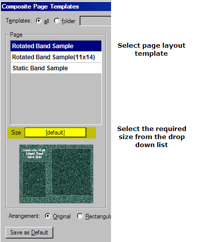 Multiple composite sizes from one template / General ...